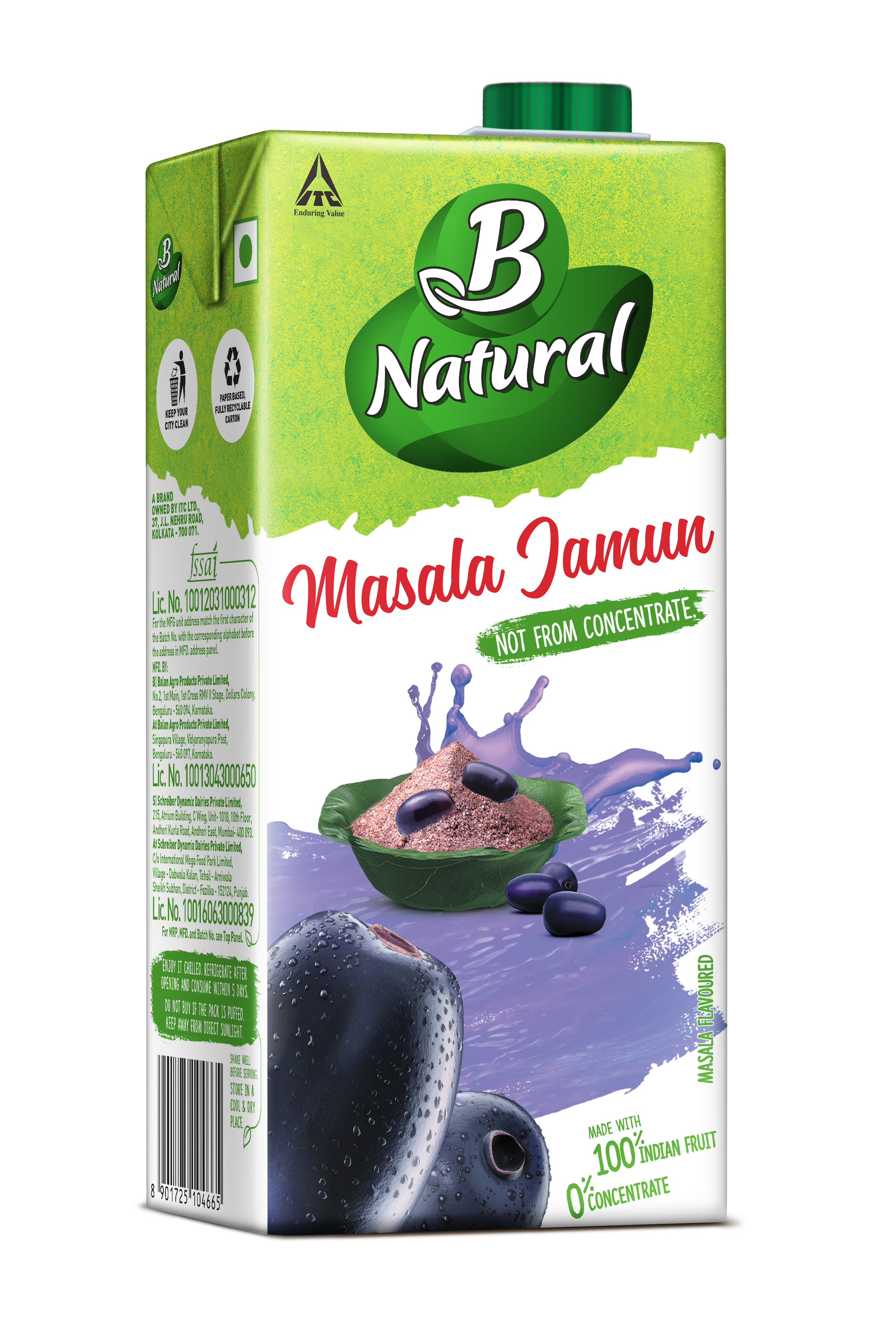 B Natural Masala Jamun Drinks
