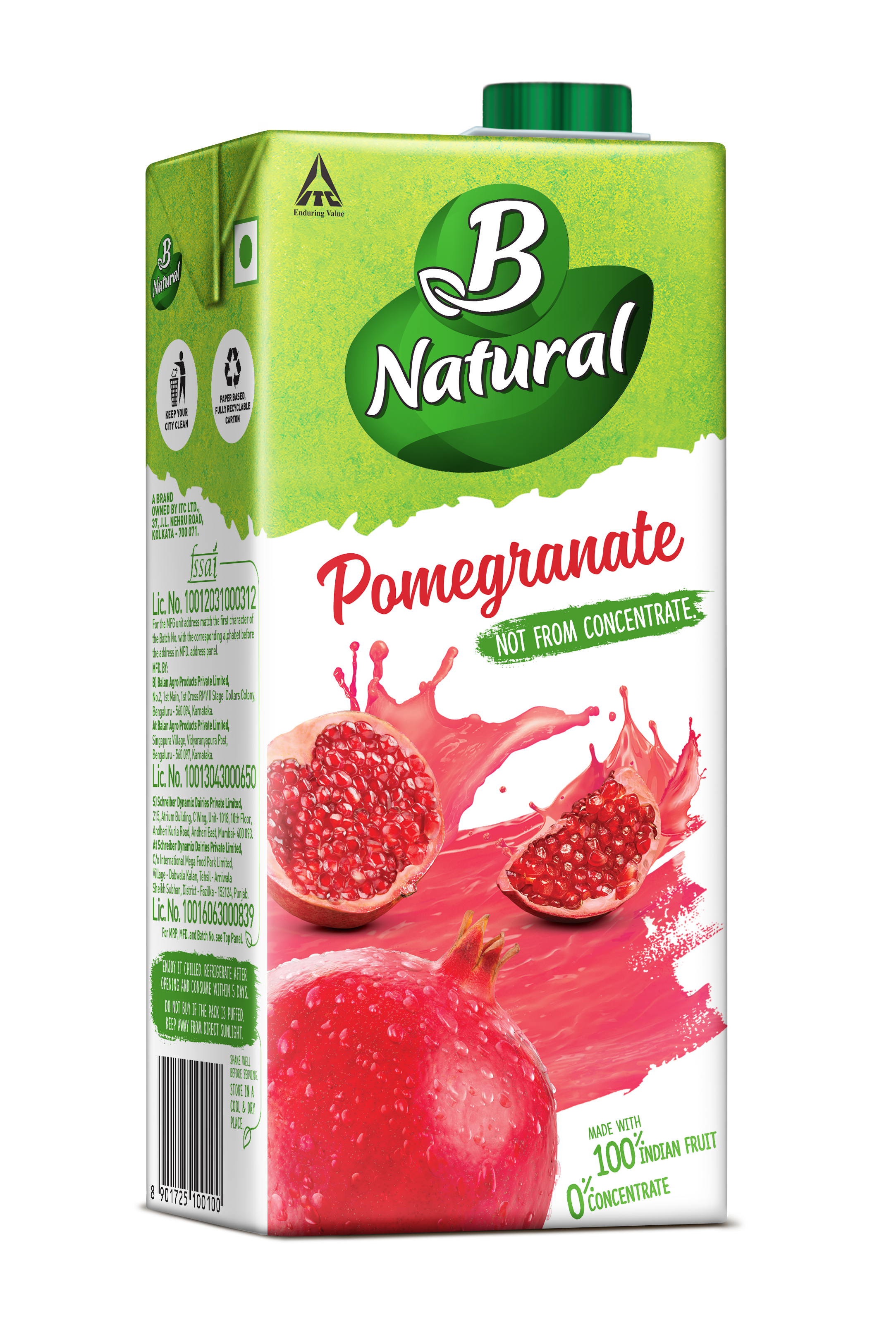 B Natural PINEAPPLE Drinks