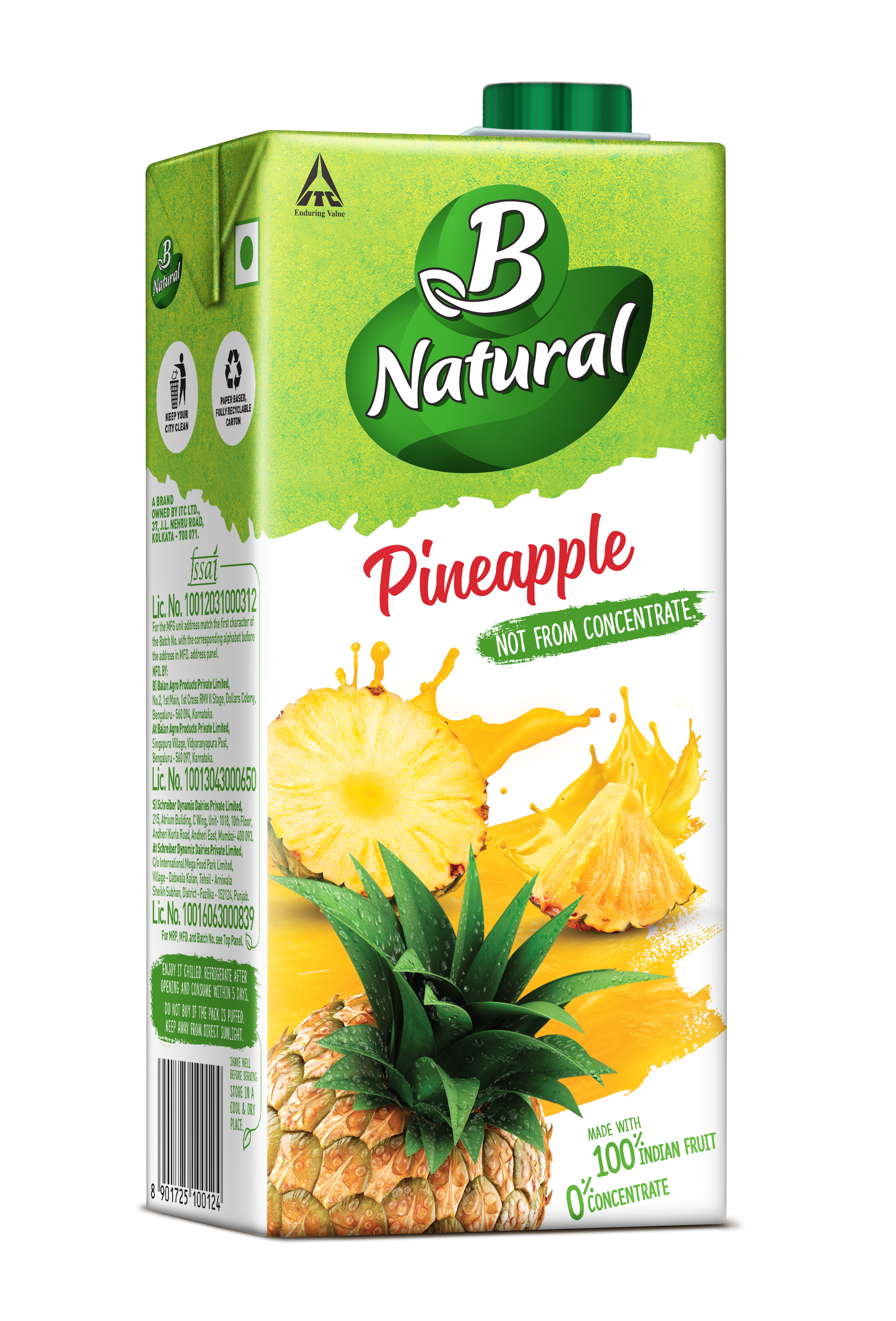 B Natural PINEAPPLE